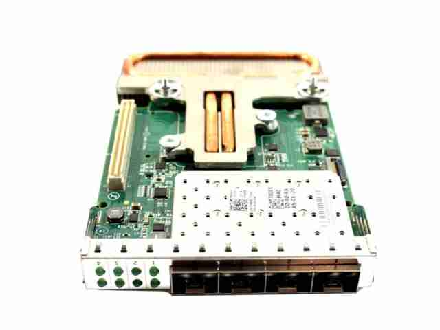 Dell Emulex OneConnect Quad-Port 10GbE SFP RNDC Network Daughter Card T800X  D6T93