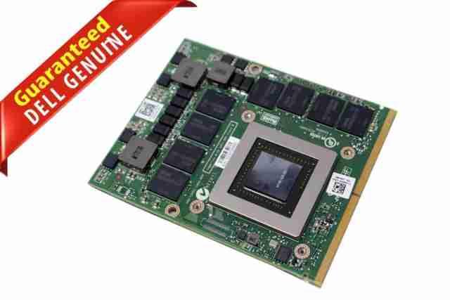Dell 5DGTT JDHNF NVIDIA Quadro K4000M 4GB MXM N14E-Q3 Laptop Video Card  N14E-Q3