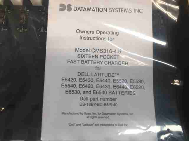 WTS: Datamation 16 bay battery charger | Tradeloop